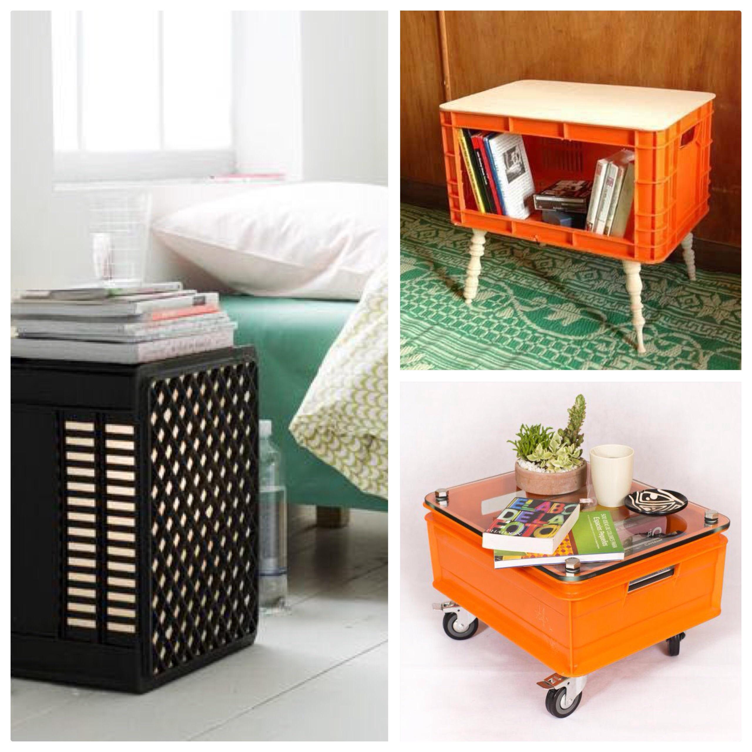 Nueva vida a las cajas de pl stico ideas de decoraci n for Decorar mi casa reciclando