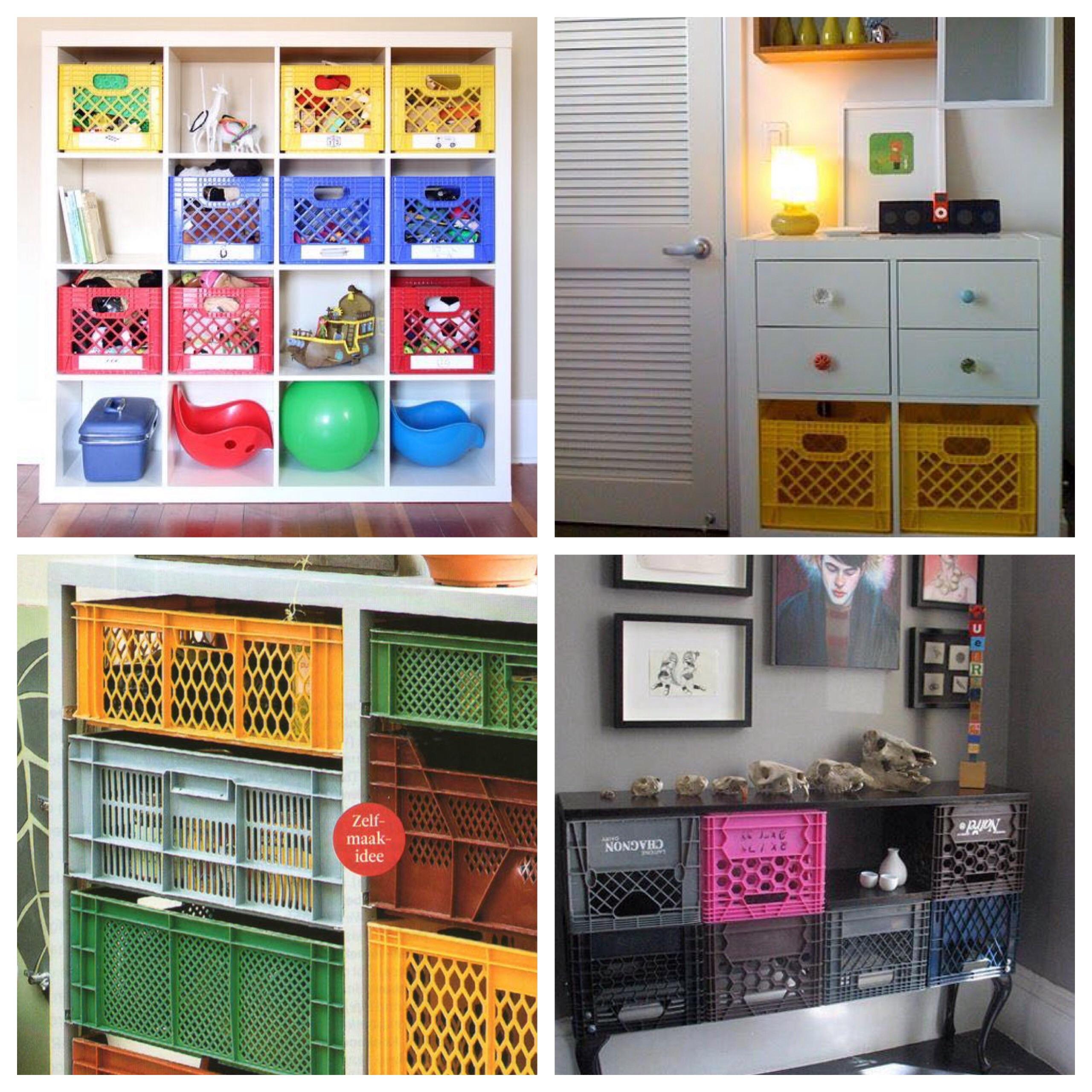 Nueva vida a las cajas de plástico ideas de decoración – Umidori