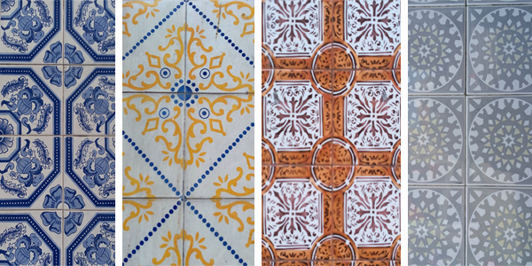 Collage azulejos 1