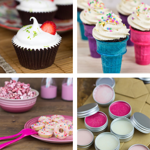 Cupcake perfecto collage