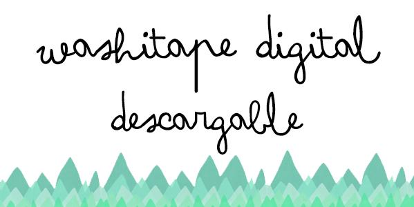 Cabecera Washitape digital invierno Umidori