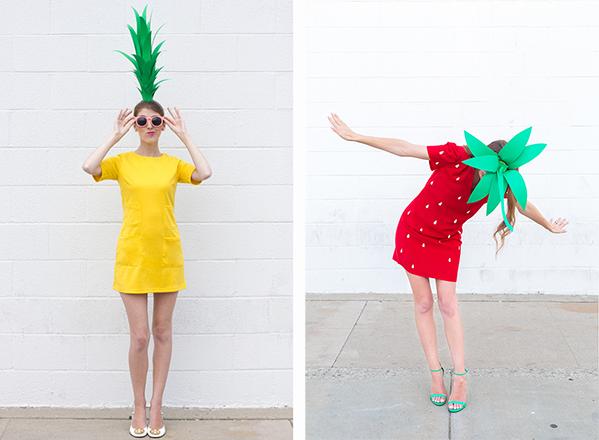 Disfraz frutas