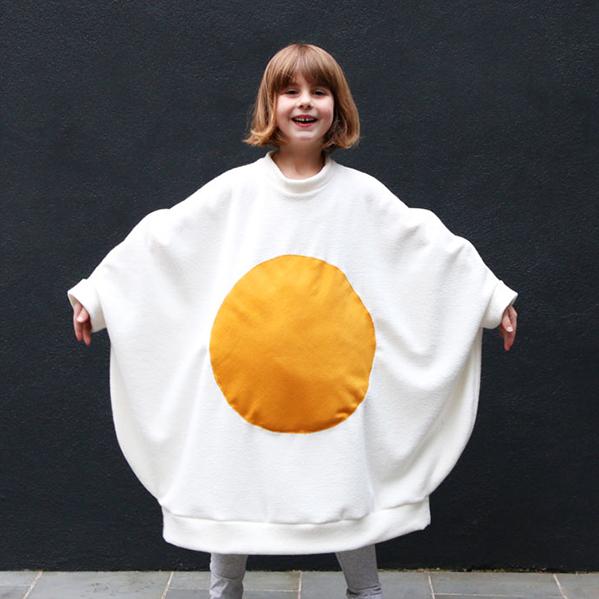 Disfraz huevo